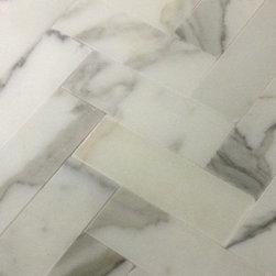 Calacatta Gold Marble Tiles & Mosaics ITALIAN MARBLE - BATHROOM FLOOR AND WALL ..