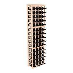 Wine Racks America - 4 Column Magnum/Champagne Wine Kit, (Unstained) Pine - A special rack with large bin openings for proper preservation of 60 1.5L wine bottles. Integrates with other instaCellar racking easily. Our magnum style rack is designed for stability, beauty and longevity. You'll be impressed by this rack or get your money back. Guaranteed.
