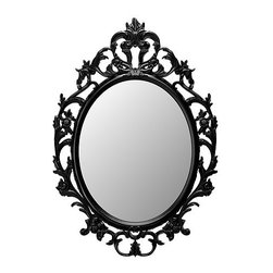 IKEA of Sweden - Ung Drill Mirror - This mirror is an incredible price for the ornate design.