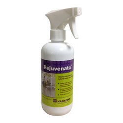 Drytreat - Rejuvenata™ Natural Stone Cleaner Spray (16 fl.oz) - How to use: First removal all loose dust and dirt from the surface. Generously apply Rejuvenata™ to surface. Lightly polish with a soft, absorbent lint-free cloth or paper towel to remove excess. Repeat for heavily soiled areas. We recommend sealing stone countertops with Stain-Proof Original or Meta Creme. Advanced tips: