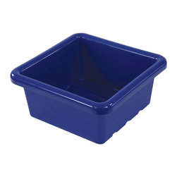 Ecr4kids - Ecr4Kids Square Replacement Tray For Stroage Unit Without Lid Blue 20 Pack - Replacement Bins for use with storage units and Sand and Water Play Centers.Replacement polypropylene basin for modular Sand and Water Play Centers, Ellipse Storage Centers and other laminate storage centers.Note Colors may vary - may change without notice. Available with clear lid (model ELR-0801-XX), sold separately To avoid attraction by animals or insects, do not leave water standing after use.