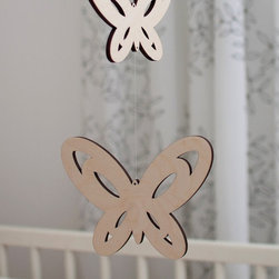 The Modern Baby Company Little Butterfly Mobile - The Modern Baby Company Little Butterfly Mobile