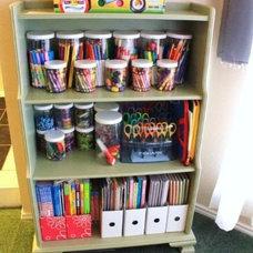 Kids craft organisation idea