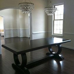Douglas Homes - Ferguson Copeland Centre Table.  Elegant with clean lines.