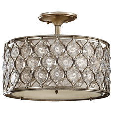 Contemporary Flush-mount Ceiling Lighting by Feiss - Monte Carlo