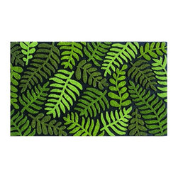 BuyMATS Inc. - Fern Entry MAT - •Innovative Chroma-Grit surface provides aggressive scraping action and repels water for great traction in all weather.