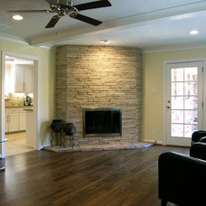 Contemporary Family Room by Greenbrook Homes