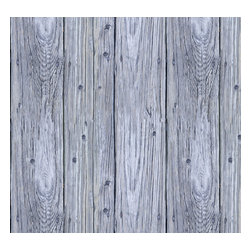 Removable Wallpaper-Beach Wood-Peel & Stick Self Adhesive, 24x108 - Couture WallSkins.  Your wall will love you for this.
