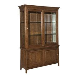 Kincaid - Kincaid Cherry Park Solid Wood China Cabinet - The China Cabinet in the Cherry Park ...