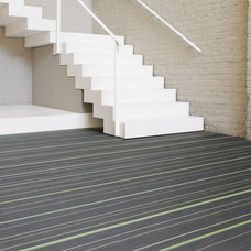 Contemporary Vinyl Flooring by d`apostrophe llc