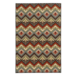 """Oriental Weavers Sphinx - Oriental Weavers Sphinx Arabella 15754 (Multi) 6'7"""" x 9'3"""" Rug - This Machine Tufted rug would make a great addition to any room in the house. The plush feel and durability of this rug will make it a must for your home. Free Shipping - Quick Delivery - Satisfaction Guaranteed"""
