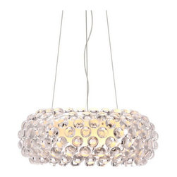 Zuo Modern - Stellar Ceiling Lamp - Stellar Ceiling Lamp     Like looking at the twinkling stars in the sky, the Stellar ceiling lamp adds sparkle to any room. Made from a chrome base and includes a 150W max bulb. UL approved.