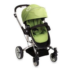 Teutonia - teutonia T-Linx Stroller in Topaz Green - This designer stroller offers luxury styling and a top-shelf performance. The T-Linx stroller is light, compact and maneuverable.