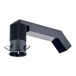 """CSL - CSL Eco-Downlight Mini Warm White LED 2"""" Remodel Housing - This 10 watt 2"""" downlight non-IC housing is for remodel or retrofit applications. It features energy-efficient warm white light-producing LEDs and can accommodate round and square trims. UL-rated for damp locations and compatible with ELV dimmers (sold separately). With an extruded aluminum heatsink in anodized black finish a cold-rolled steel can in powdercoat black and supplied with black oxide finish heat-treated spring stell mounting clips. Adjusts vertically to accommodate ceiling thicknesses from 1/2"""" to 1"""" and includes an aluminum junction box with one 1/2"""" trade-size knockout. Field-replaceable light engine and driver with a coded light engine for performance maintenance replacement. Compatible with other Eco-Downlight products from CSL Lighting. Mini 2"""" LED non-IC housing for remodel/retrofit recessed lighting applications. Warm white light. Extruded aluminum and cold-rolled steel construction. Anodized black and black powdercoat finish. Accommodat  Mini 2"""" LED non-IC housing for remodel/retrofit recessed lighting applications.  Warm white light.  Extruded aluminum and cold-rolled steel construction.  Anodized black and black powdercoat finish.  Accommodates round and square trims.  Includes one warm white 10 watt LED array with a light output of 850 lumens equivalent to a 60 watt incandescent bulb.  120V input LED driver with 10 watt output 50/60 Hz.  5000 hour LED lifespan at 70 percent lumen maintenance.  Aluminum junction box.  Damp location-rated.  9.38"""" wide.  4.5"""" high.  2850K."""