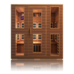 JNH Lifestyles - JNH Lifestyles Freedom 4 Person Far-Infrared Sauna - Product Description