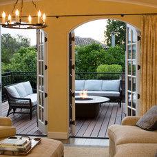 Mediterranean Deck by John Malick & Associates