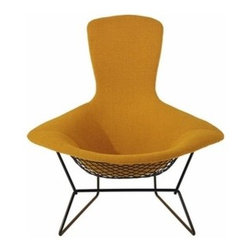 Knoll - Knoll | Bertoia Bird Lounge Chair - Design by Harry Bertoia, 1952.