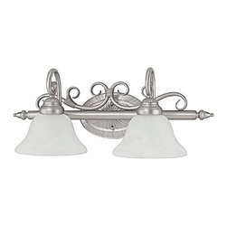 Capital Lighting - Capital Lighting Hammond Transitional Wall Sconce X-522-NM2581 - Delicate scrollwork complete with banded accents for a subtle rustic vibe, this Capital Lighting wall sconce is ideal for a variety of settings. From the Hammond Collection, the frame comes finished in two different hues, each of which are paired with the appropriately colored glass shades to compliment the design.