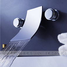 Modern Bathroom Faucets And Showerheads by bathandbedgoods