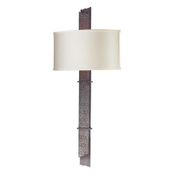 Troy Lighting - Troy Lighting B2614 Sapporo 2 Light ADA Compliant Flush Mount Wall Sconce - Troy Lighting B2614 Sapporo 2 Light Hand-Worked Wrought Iron Wall SconceThe hand-worked wrought iron of this decorative wall sconce is brightened by it's Sapporo Silver finish. Troy Lighting B2614 Features: