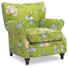 eclectic armchairs by Sam Moore