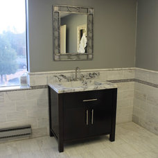 Contemporary Bathroom Vanities And Sink Consoles by CASTELLI MARBLE INC.