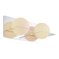 DVI LIghting - Dvi Lighting DVP0922SN-OP Two Light Vanity - DVI Lighting DVP0922SN-OP Two Light Vanity