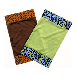 Jazzie Jungle Burp Cloths - Our soft burp cloths are perfect for baby's fresh new skin