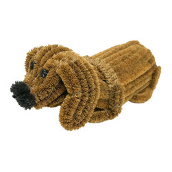 None - 'Doggie' Coir Boot Scraper Decorative Outdoor Doormat - Add a little cuteness to your mudroom or entry way with this dog door mat. Dont let his sweet appearance fool you. He is crafted from environmentally-friendly coco coir fiber and can easily scrape dirt,mud,and snow from your favorite shoes and boots.