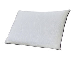 Comfort Revolution - Sealy Optimum Memory Foam Pillow - The Optimum Bed Pillow with Optigel is the perfect combination of Memory Foam, Gel and OUTLAST Technology.