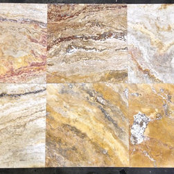 Autumn Blend Travertine - Autumn Blend Travertine Tiles. Please visit www.stone-mart.com or call (813) 885-6900 for more information.