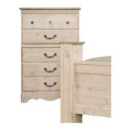 Standard Furniture - Standard Furniture Seville 31 Inch Chest in Old Fashioned Wood - 31 Inch Chest in Old Fashioned Wood belongs to Seville collection by Standard Furniture.