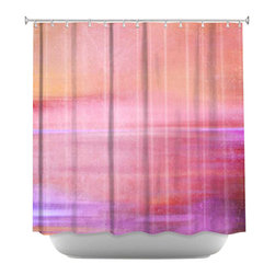 DiaNoche Designs - Shower Curtain Artistic - Infusion of Colour II - DiaNoche Designs works with artists from around the world to bring unique, artistic products to decorate all aspects of your home.  Our designer Shower Curtains will be the talk of every guest to visit your bathroom!  Our Shower Curtains have Sewn reinforced holes for curtain rings, Shower Curtain Rings Not Included.  Dye Sublimation printing adheres the ink to the material for long life and durability. Machine Wash upon arrival for maximum softness. Made in USA.  Shower Curtain Rings Not Included.