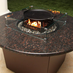 The Riviera Fire Table - In a brilliant combination of form and function, Firetainment have produced a 3 in 1 product: