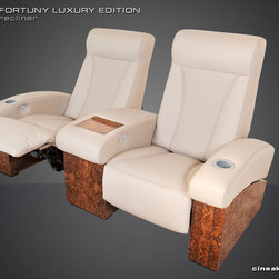 ULTIMATE MEDIA ROOM SEATS - MORE EXCLUSIVE MATERIALS AND FINISHES