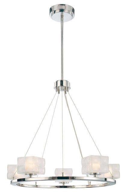 Contemporary Chandeliers by Lights Online