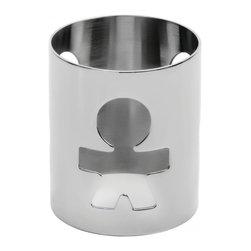 "Alessi - Alessi ""Girotondo"" Napkin Ring, Man - Napkin ring in 18/10 stainless steel, mirror polished, in various motifs."