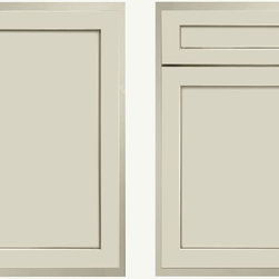 Willow on Maple - Classic, off-while shaker door never goes out of style. This timeless style works in modern, vintage, classic, transitional, you name it.
