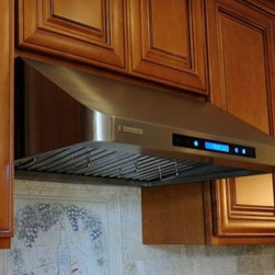 """XtremeAir - Pro-X PX10-U48 48"""" Under Cabinet Range Hood With 900 CFM  Touch Sensitive LCD El - Give your kitchen a sweet upgrade with this under-cabinet mount range hood from XtremeAir USA This 48 stainless steel non-magnetic hood features a four-speed screen touch sensitive electronic LCD control panel with remote control for easy operation T..."""