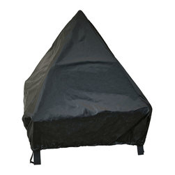 "Landmann - 24"" Tudor Black Fire Pit Cover - -Designed specifically for 24"" TUDOR Fire Pits"