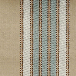 Mojito Stripe - Aquadisiac Upholstery Fabric - Item #1010202-665.