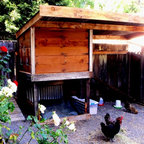 Garden Sheds & Chicken Coops - An 8'x14' custom shed in Mark West Springs, Santa Rosa, CA