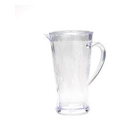 78oz Clear Pitcher with Lid Madison Bloom