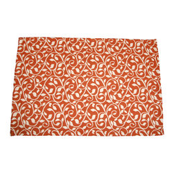 """Grey House linens - The Joanie Collection Patterned Placemats - Placemats measure 14"""" x 20""""."""