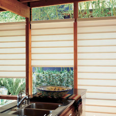 Contemporary Window Treatments by Pebble Beach Design