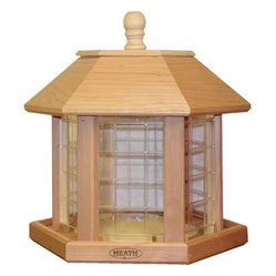 Heath - Le Grande Gazebo Feeder - Le Grande Gazebo Feeder (Cedar)  Holds up to 20lbs of Seed.  Comes Fully Assembled.  Quality in every detail make Heath Bird Feeders a perfect addition to every backyard! Fill with Premium Mixed or All-Sunflower Seed  This item cannot be shipped to APO/FPO addresses.