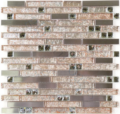 Contemporary Tile by Glass Tile Oasis