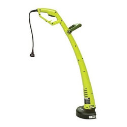 Snow Joe - 3-Amp Electric Grass Trimmer - Sun Joe TRJ609E Trimmer Joe 3-Amp Electric Grass Trimmer 9.45-Inch. Weighing only 3.3-Pounds Trimmer Joe is super lightweight and features an ergonomic handle to maximize comfort and minimize fatigue during use. Its compact design makes it ideal for cutting grass in tight spaces especially around small yards townhouse lots patio stones flower beds and walkways. Powered electrically Trimmer Joe starts instantly and reliably with the push of a button without having to mess with gas or oil or worry about maintenance tune-ups or toxic emissions. The bump feed spool system puts you in control over how much line you use.
