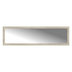 """Posters 2 Prints, LLC - 71"""" x 20"""" Libretto Antique Silver Custom Framed Mirror - 71"""" x 20"""" Custom Framed Mirror made by Posters 2 Prints. Standard glass with unrivaled selection of crafted mirror frames.  Protected with category II safety backing to keep glass fragments together should the mirror be accidentally broken.  Safe arrival guaranteed.  Made in the United States of America"""