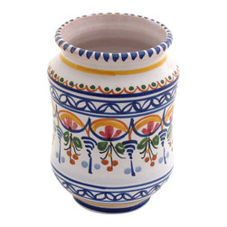 "Spanish Majolica 6"" Pencil Holder - Spanish Majolica 6"" Pencil Holder"